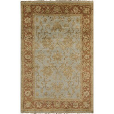 Talence Red Tan Oriental Area Rug Rug Size: 56 x 86