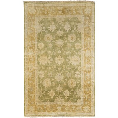 Talence Olive Area Rug Rug Size: Rectangle 36 x 56