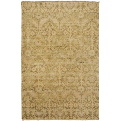 Talence Olive Floral Area Rug Rug Size: Rectangle 36 x 56