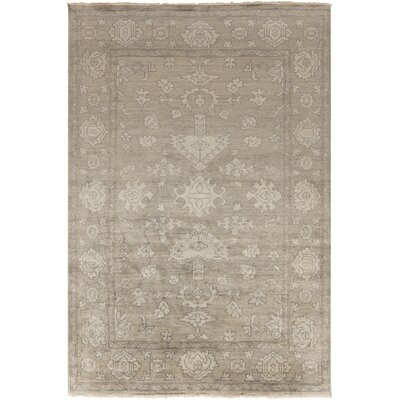 Talence Gray Rug Rug Size: Rectangle 9 x 13