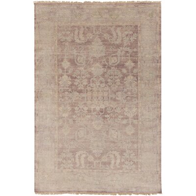 Talence Mauve/Eggplant Rug Rug Size: Rectangle 2 x 3
