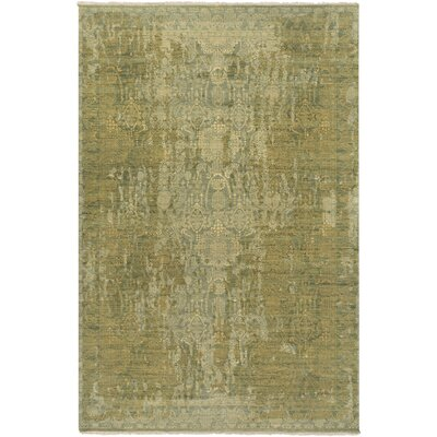 Vivier Olive/Lime Area Rug Rug Size: Rectangle 6 x 9