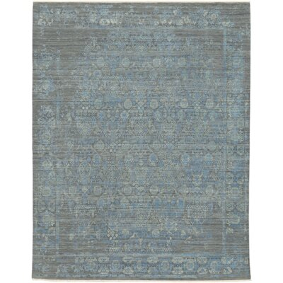 Erie Hand-Knotted Area Rug Rug size: 10 x 14