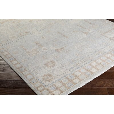Naelle Hand-Knotted Area Rug Rug size: 2 x 3
