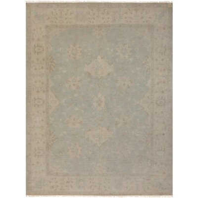 Andelle Hand-Knotted Gray/Brown Area Rug Rug Size: Rectangle 6 x 9
