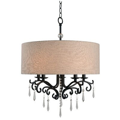 Alan 5-Light Drum Chandelier