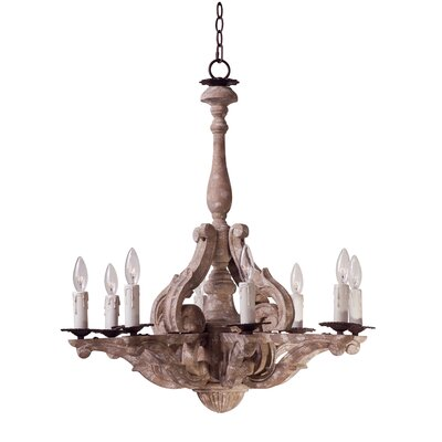 Valmer 8-Light Candle-Style Chandelier
