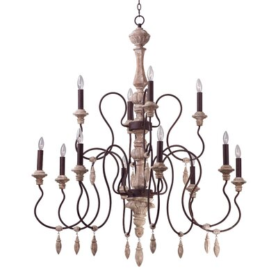 Valmer 12-Light Candle-Style Chandelier
