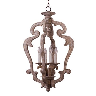 Valmer Entry 4-Light Foyer Pendant