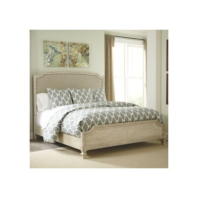 Bretenieres Upholstered Panel Headboard Size: King