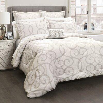 Montmorency 6 Piece Comforter Set Size: Full/Queen