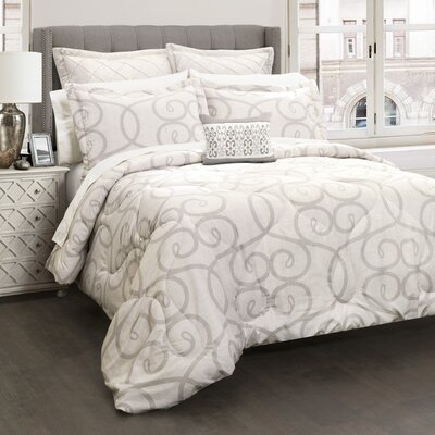 Titouan 6 Piece Comforter Set Size: King