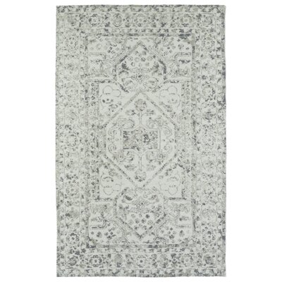 Theroux Ivory Area Rug Rug Size: Rectangle 5 x 7