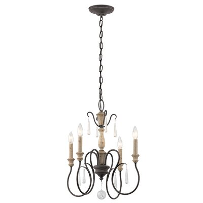 Loraine 4-Light Candle-Style Chandelier