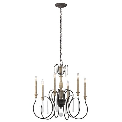 Tamera 6-Light Candle-Style Chandelier