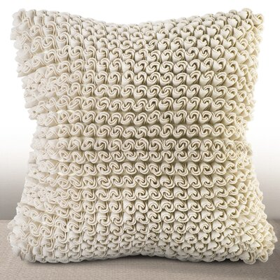 Charmant Rosette Luxury Throw Pillow