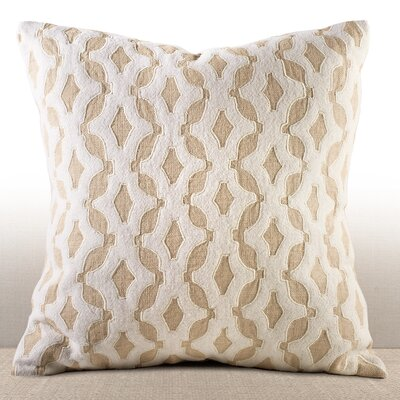 Cassis Linen Throw Pillow