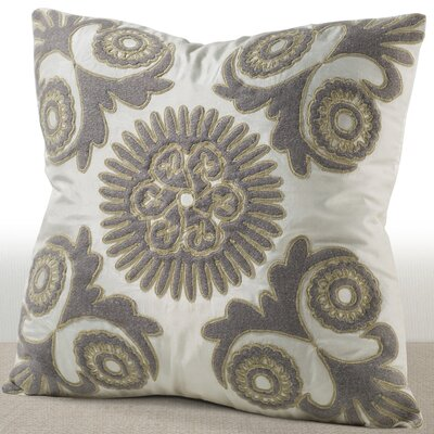 Chablis Silk Throw Pillow