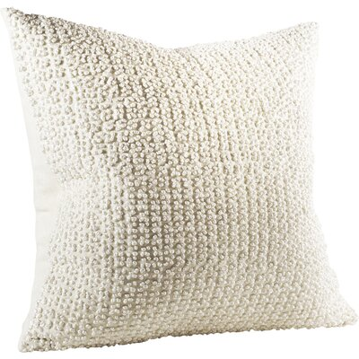 Armillac French Knot Linen Throw Pillow