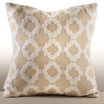Cassis Linen Throw Pillow