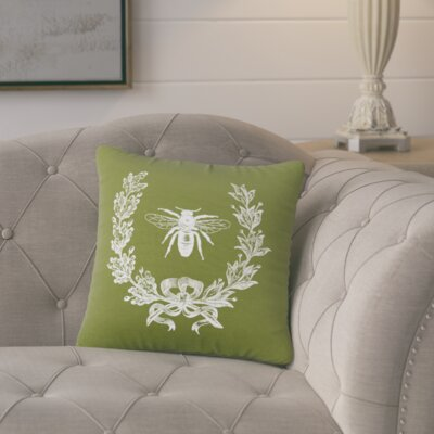 Citronelle  Throw Pillow Color: Citronella