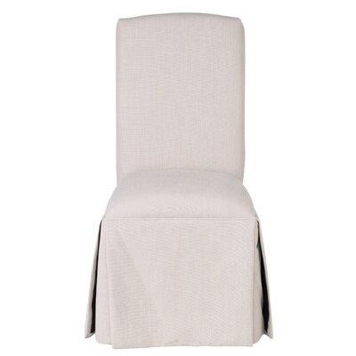 Preiss Upholstered Dining Chair Upholstery: Stone