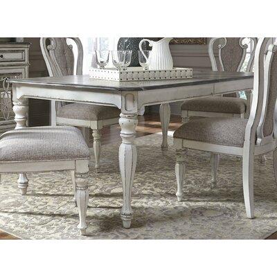 Colette Extendable Dining Table Size: 30 H x 90 L x 40 D