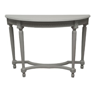 Vaughan Console Table Finish: Gray Wash