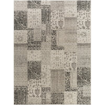 Jerome Charcoal & Beige Area Rug Rug Size: 711 x 11