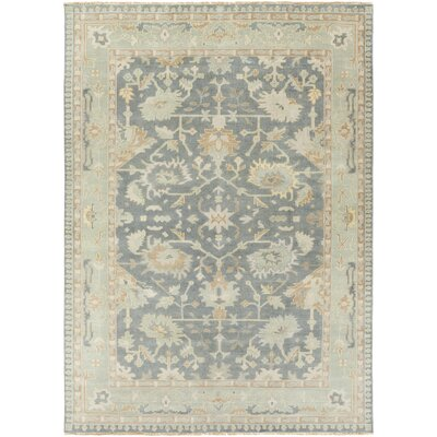 Bismarck Cappadocia Slate/Sea Foam Area Rug Rug Size: Rectangle 56 x 86