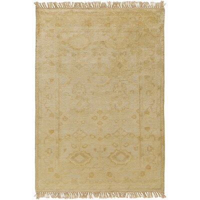 Kangley Traditional Beige Area Rug Rug Size: 36 x 56
