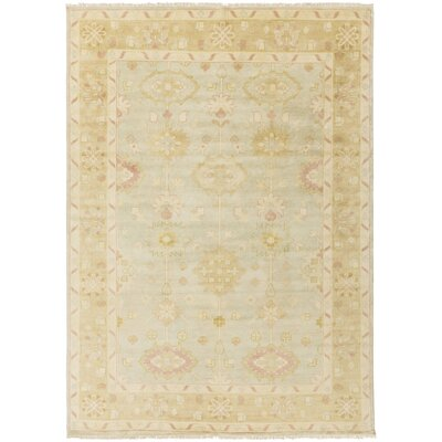 Kangley Gold/Slate Area Rug Rug Size: 2 x 3