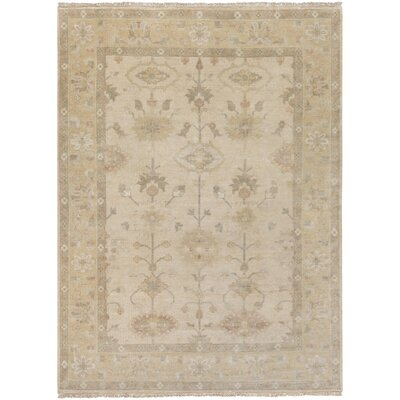 Brie Beige Area Rug Rug Size: 56 x 86