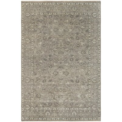 Naelle Hand-Knotted Area Rug Rug size: 8 x 10