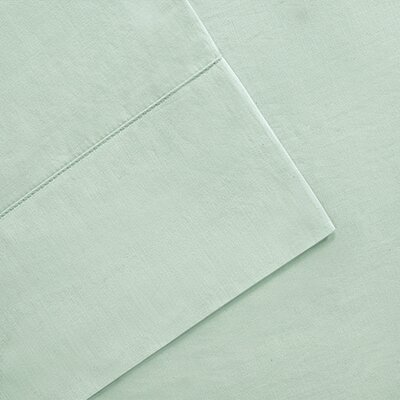 300 Thread Count Pima Cotton Sheet Set Size: Queen, Color: Seafoam