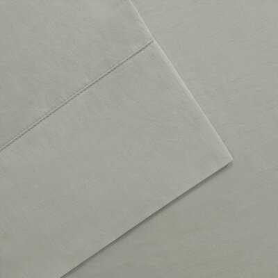 Elona 300 Thread Count Pima Cotton Sheet Set Size: Queen, Color: Gray