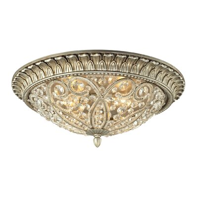 Mirmande 3-Light Flush Mount