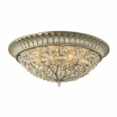 Belleterre 8-Light Flush Mount