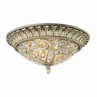 Mirmande 2-Light Flush Mount