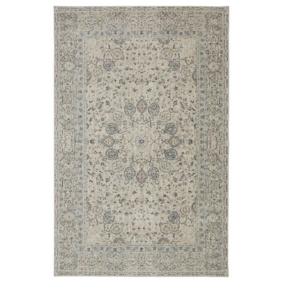 Bourges Beige Area Rug Rug Size: 53 x 710