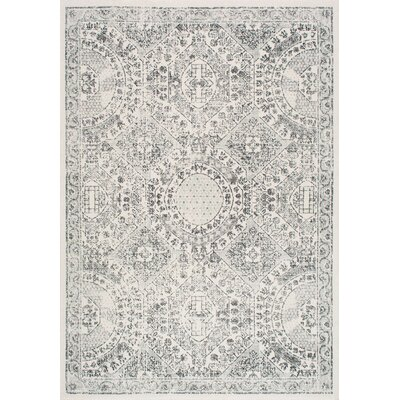 London Gray Area Rug Rug Size: 4 x 6
