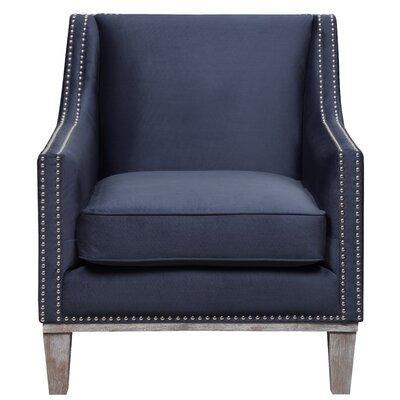 Bergerac Armchair Upholstery: Navy