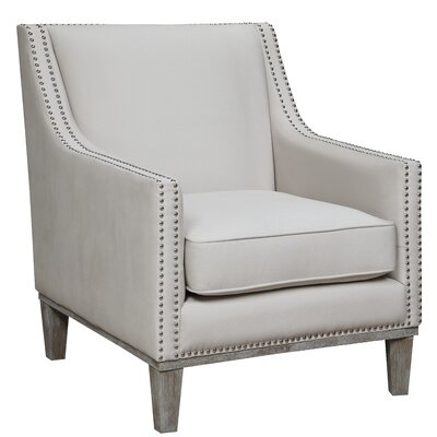 Bergerac Armchair Upholstery: Snow