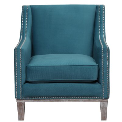 Bergerac Armchair Upholstery: Teal