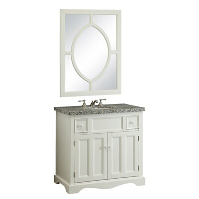 Mulvey 35 Bathroom Vanity Set with Mirror