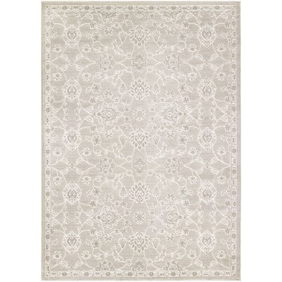 Arabi Pearl/Champagne Area Rug Rug Size: Rectangle 710 x 109