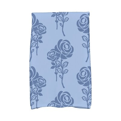 Carmen Hand Towel Color: Blue