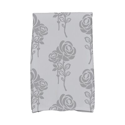 Carmen Hand Towel Color: Gray