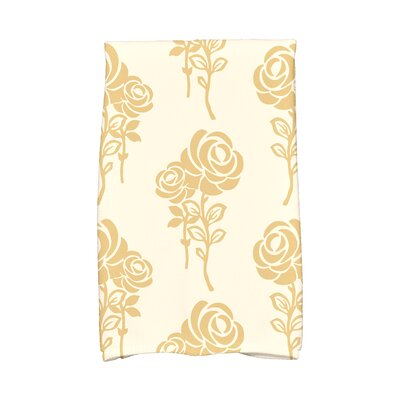 Carmen Hand Towel Color: Gold