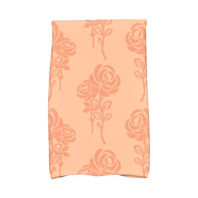 Carmen Hand Towel Color: Peach